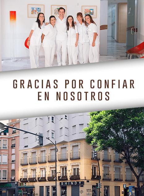 Gracias por acudir a Clinica Dental Murcia Jose Luis Cano