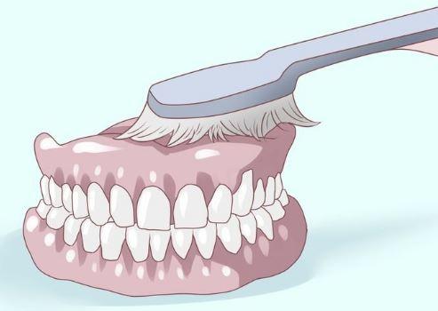 Como limpiar tu dentadura