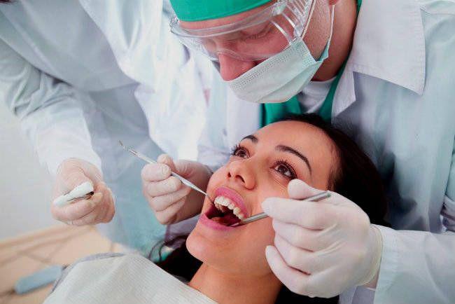 Tratamiento contra el flemón dental