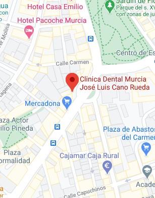 Ubicación clínica dental Jose luis Cano