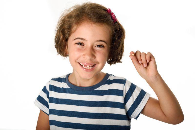 caída de dientes niñez