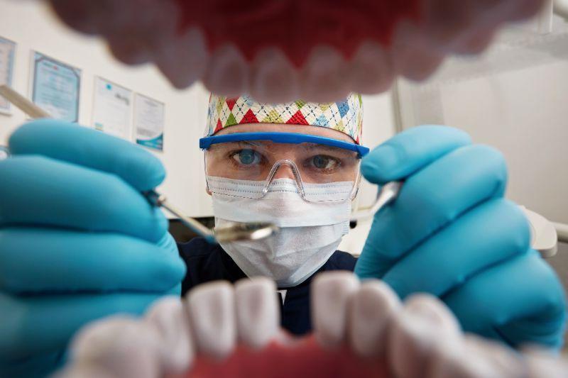 falta de diente